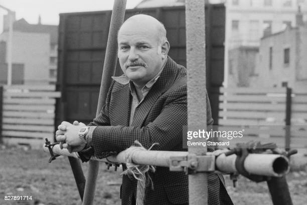 English film and stage director John Schlesinger 10th January 1975