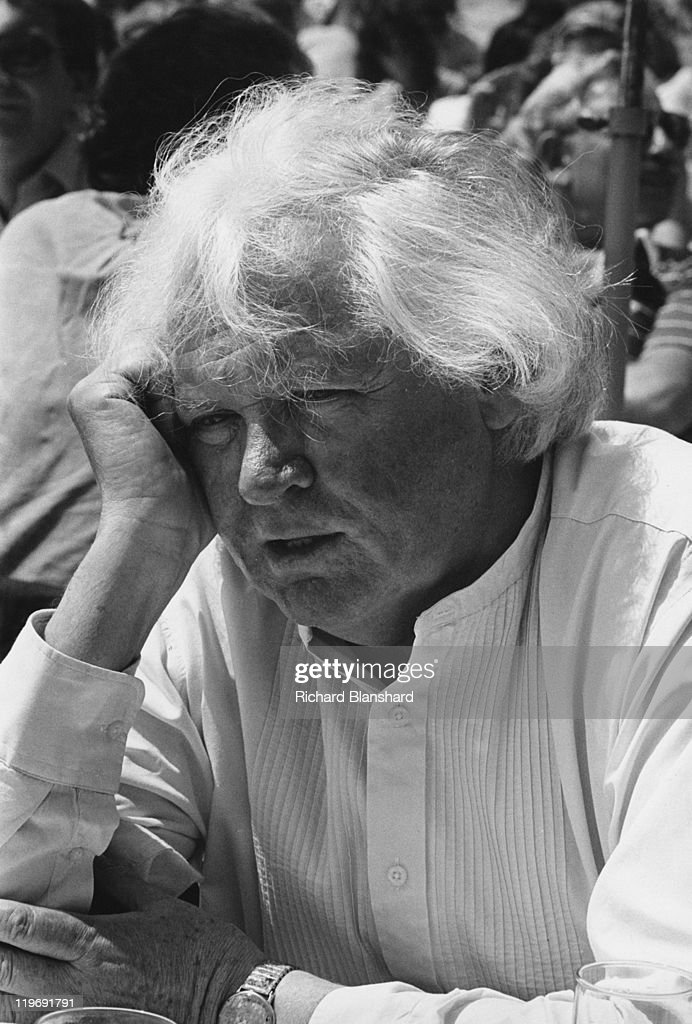 English film director Ken Russell attends a business lunch during the Cannes Film Festival, France, circa 1987.