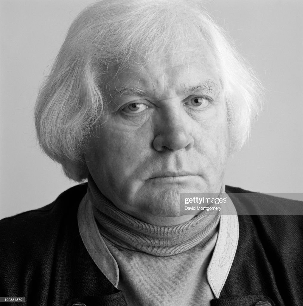 English film director Ken Russell, circa 1990.