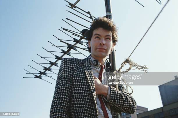 English film documentary and music video director Julien Temple Ladbroke Grove London 1981