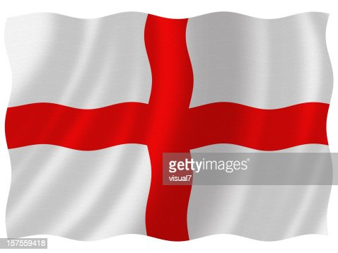 Englische Flagge : Stock-Foto