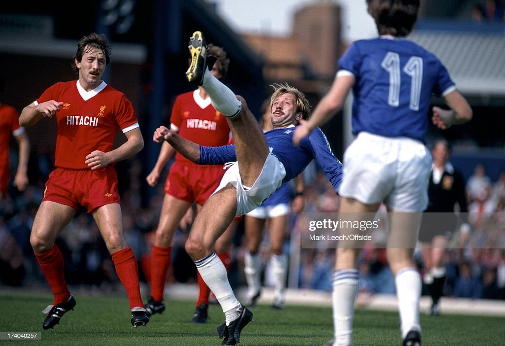 English Football League Division One Birmingham City v Liverpool Jimmy Case looks on as Frank Worthington clears the ball
