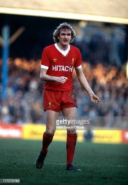 English Football League Division One Brighton Hove Albion v Liverpool Phil Thompson