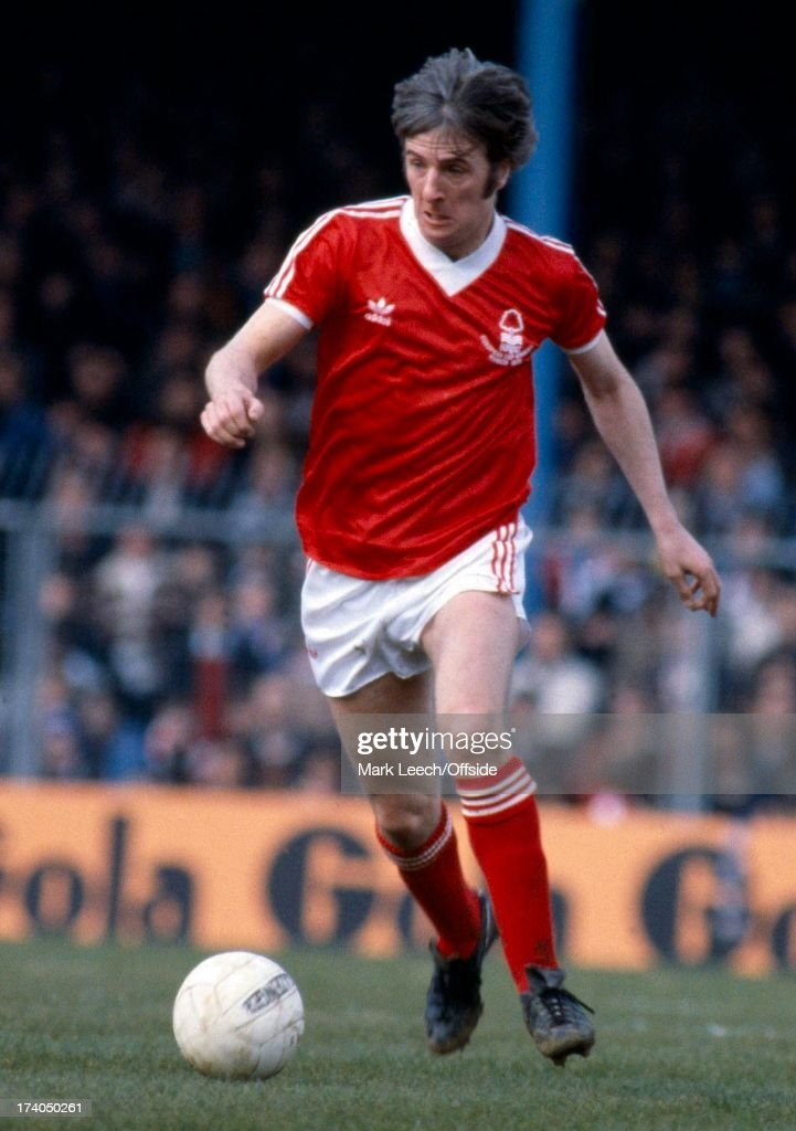English Football League Division One, Brighton v Nottingham Forest, Forest player Stan Bowles.