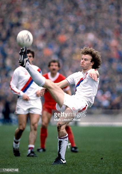 English Football League Division One Crystal Palace v Liverpool Billy Gilbert clears the ball