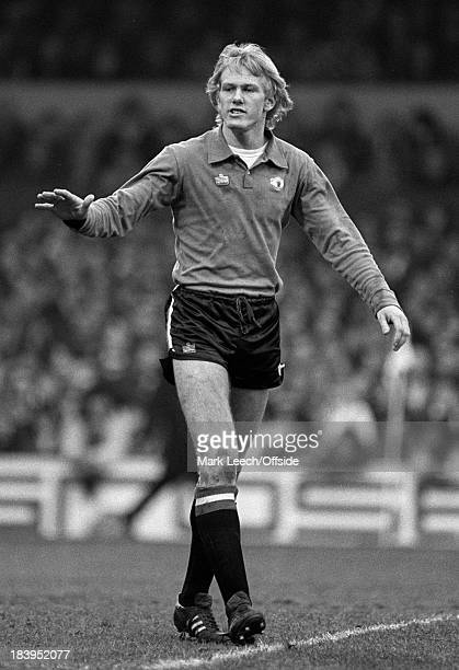 English Football League Division One Ipswich Town v Manchester United Gary Bailey