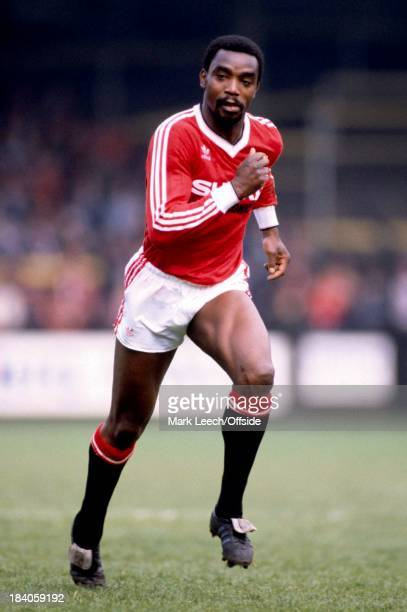 English Football League Division One Norwich City v Manchester United United winger Laurie Cunningham