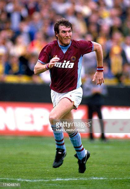 English Football League Division One Watford v Aston Villa Villa striker Peter Withe