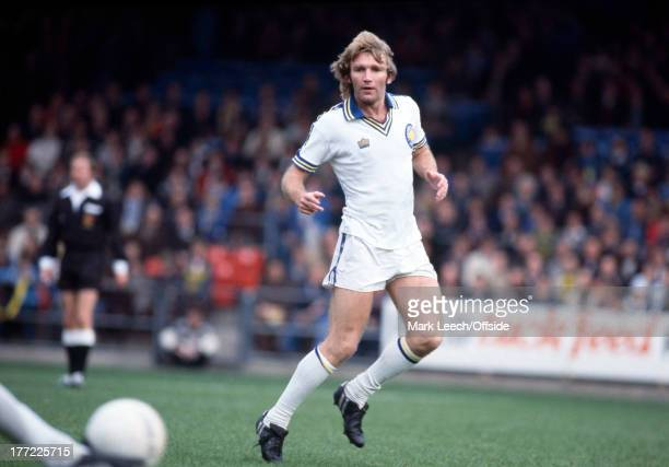 English Football League Division OneNorwich City v Leeds United Tony Currie of Leeds