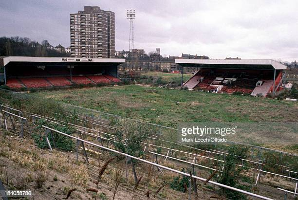 English Football The Valley lies derelict after Charlton Athletic left the ground due to safety reasons