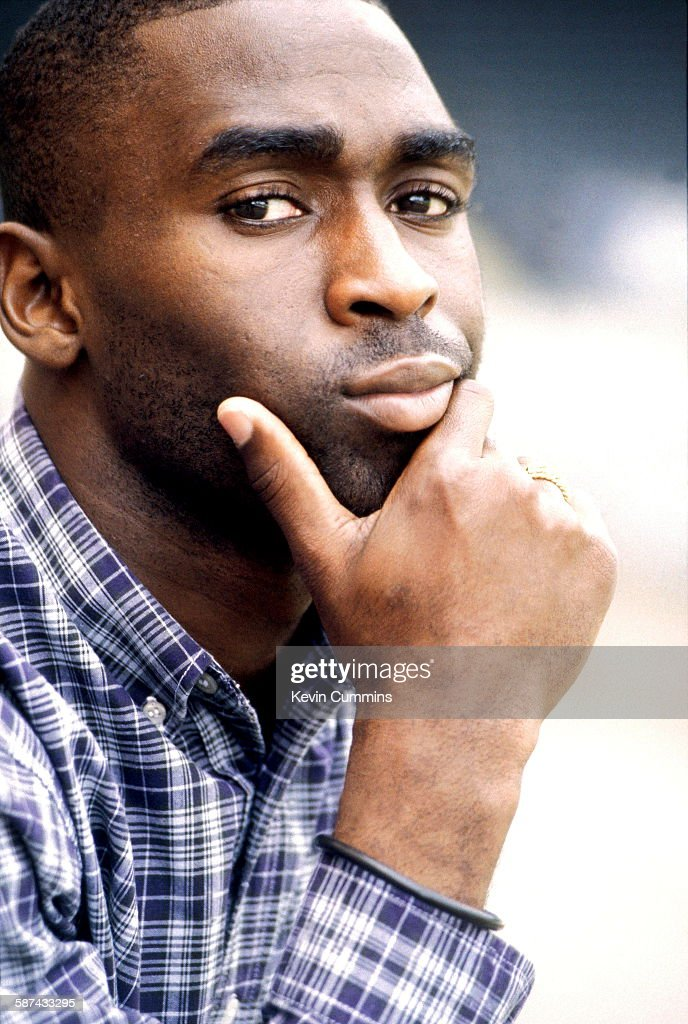 English footballer Andy Cole, circa 2005.