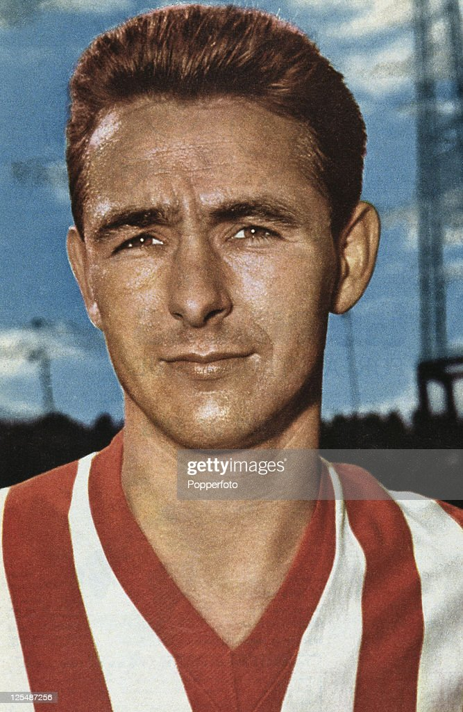 English footballer Brian Clough during his time as a striker for Sunderland AFC 1961