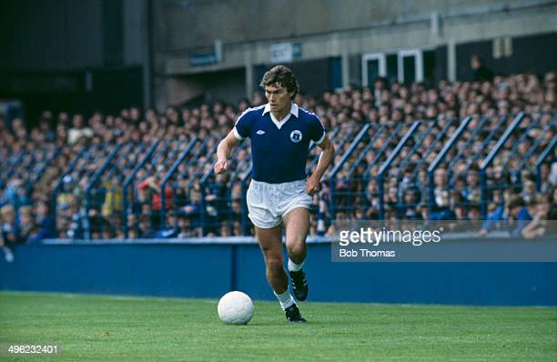 English footballer Dave Thomas playing for Everton FC circa 1978