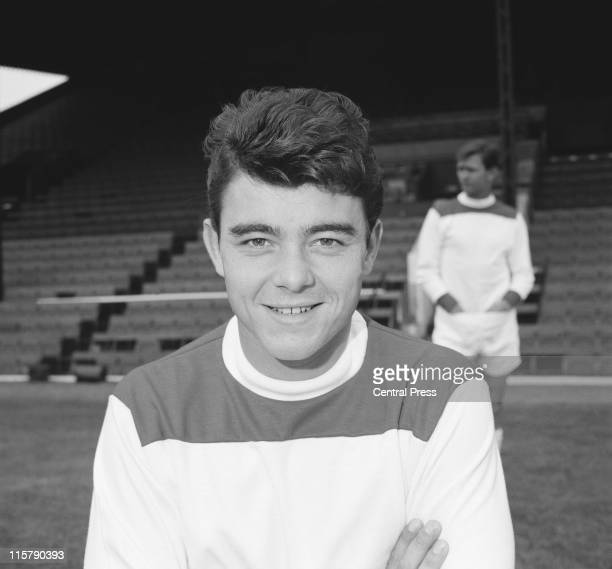 English footballer Keith Peacock of Charlton Athletic August 1965