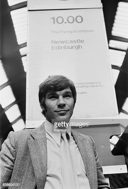 English footballer Malcolm Macdonald after his transfer from Luton Town FC to Newcastle United FC UK 7th May 1971