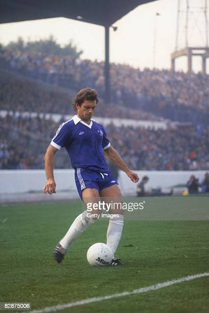 English footballer Ray Wilkins of Chelsea in action circa 1975