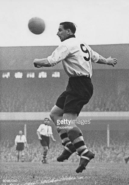 English footballer Tommy Lawton the Notts County FC centre forward 25th October 1951