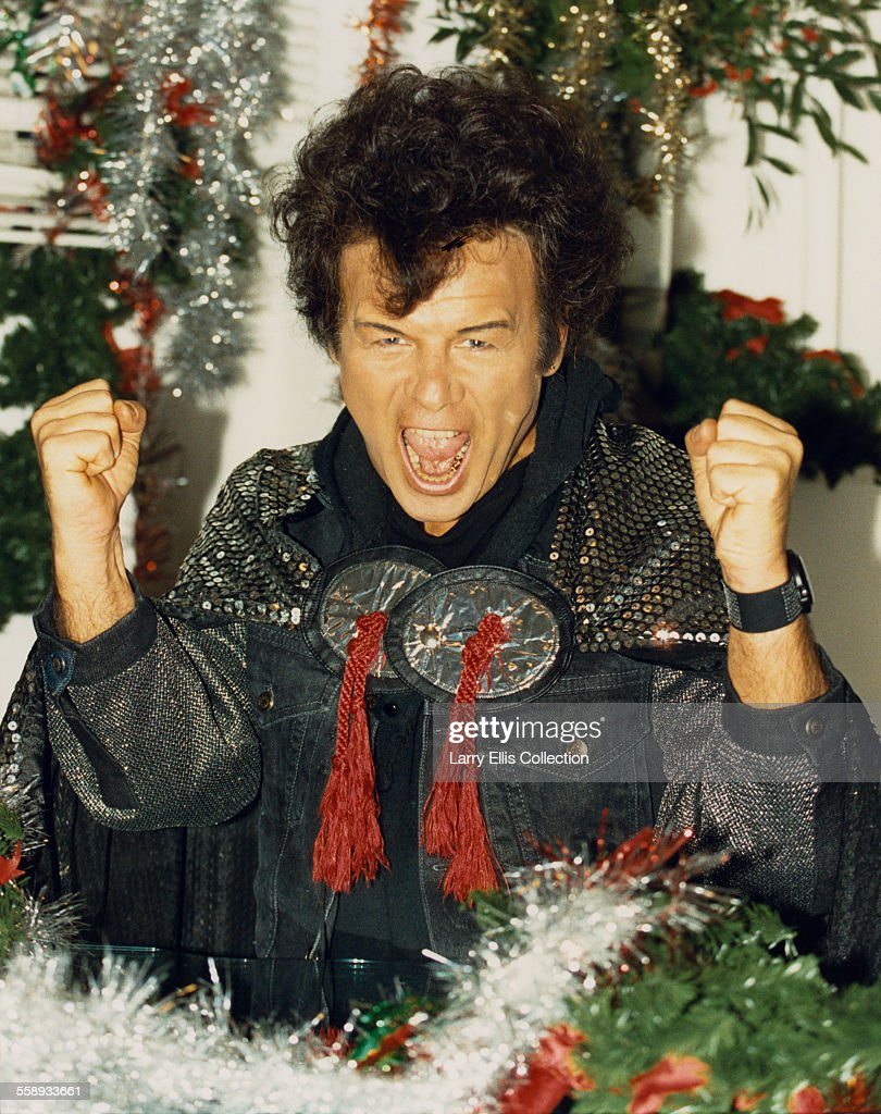 English glam rock singer <a gi-track='captionPersonalityLinkClicked' href=/galleries/search?phrase=Gary+Glitter&family=editorial&specificpeople=228004 ng-click='$event.stopPropagation()'>Gary Glitter</a>, 1989.