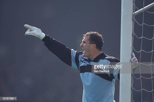 English goalkeeper John Burridge of Hibernian FC circa 1992