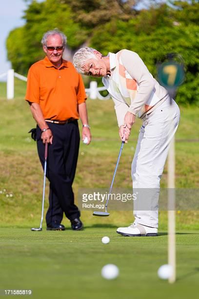 英語のゴルファー