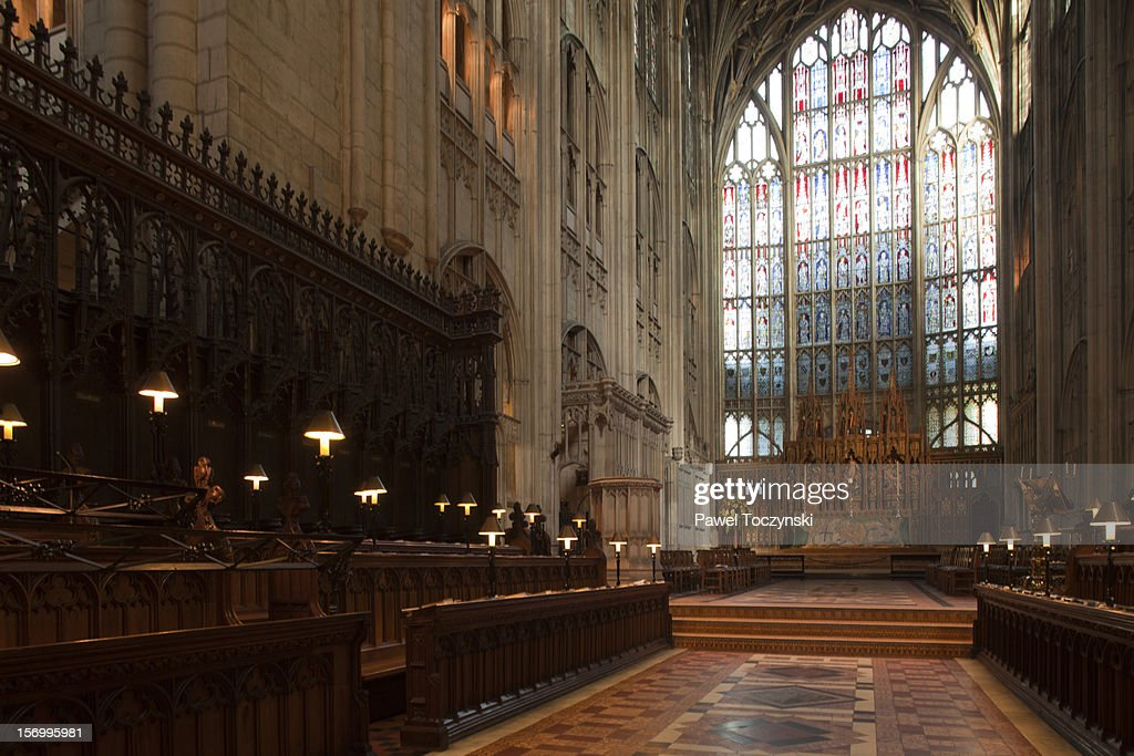 English Gothic - Gloucester Cathedral : Stock Photo