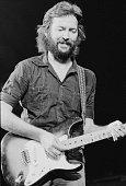 English guitarist Eric Clapton during a US tour 1st July 1975