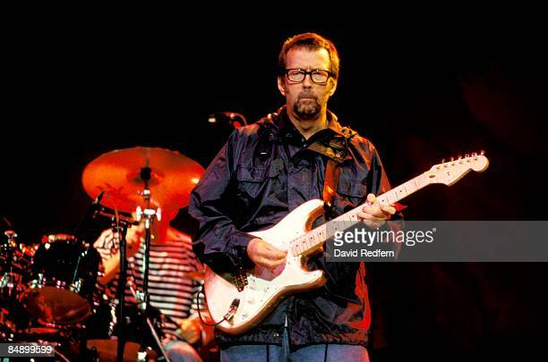 FESTIVAL Photo of Eric CLAPTON performing live onstage