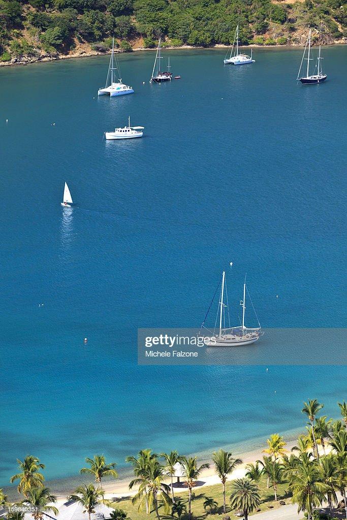 English Harbour, Antigua and Barbuda : Stock Photo