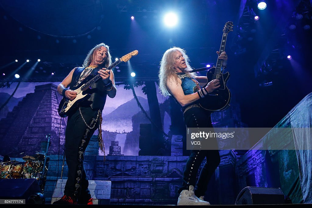 iron maiden entertainment group getty images. Black Bedroom Furniture Sets. Home Design Ideas