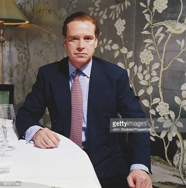 English household cavalry officer James Hewitt circa 1998