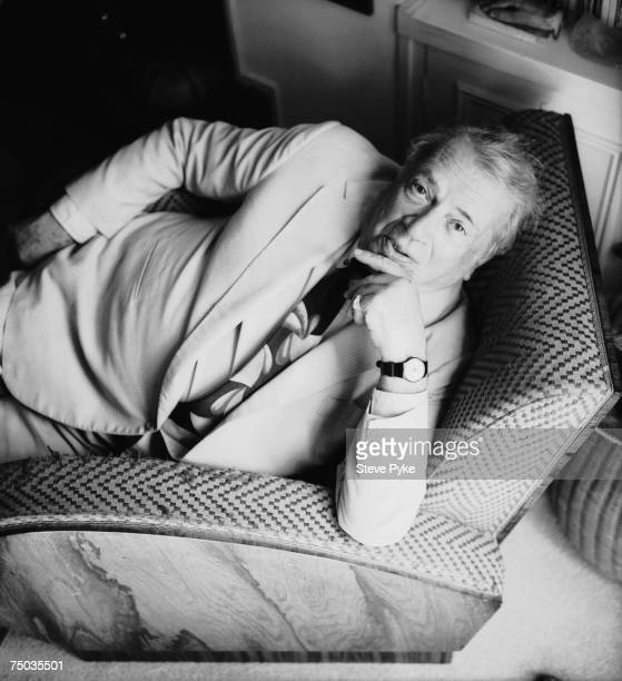 English jazz and blues singer George Melly 12th May 1998