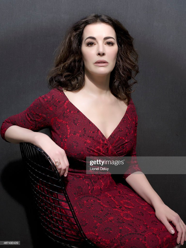 English journalist, broadcaster, television personality, gourmet, and food writer <a gi-track='captionPersonalityLinkClicked' href=/galleries/search?phrase=Nigella+Lawson&family=editorial&specificpeople=209173 ng-click='$event.stopPropagation()'>Nigella Lawson</a> is photographed for The Taste on February 1, 2015 in Los Angeles, California.