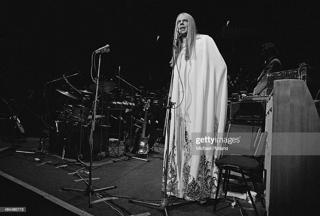 English keyboard player Rick Wakeman at the Royal Festival Hall before a performance with the London Symphony Orchestra, London, 18th January 1974.