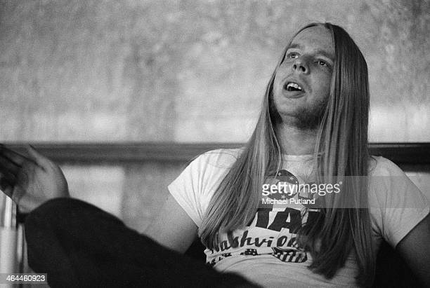 English keyboard player Rick Wakeman London January 1974