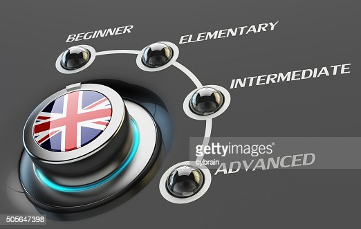 English language courses, learning and education concept : Stock Photo
