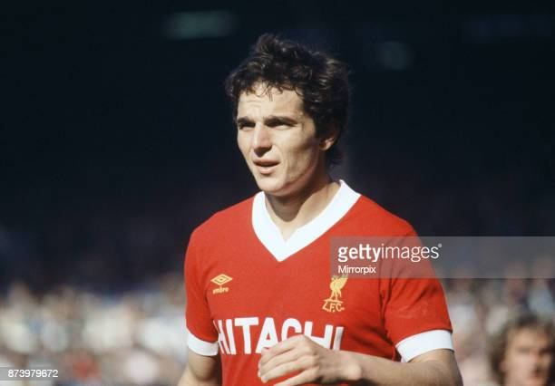 English League Division One match at Elland Road Leeds United 1 v Liverpool 1 Avi Cohen of Liverpool wearing the new Hitachi sponsored strip 15th...