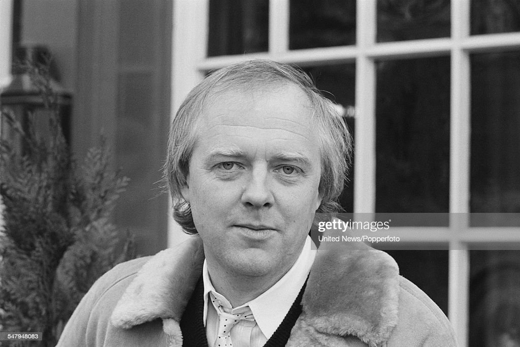 English lyricist and broadcaster Tim Rice pictured in London on 7th February 1983