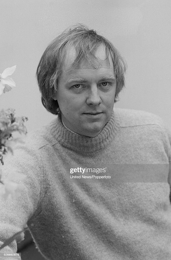 English lyricist Tim Rice pictured at a press event to promote the West End opening of the musical Evita in London on 27th April 1978