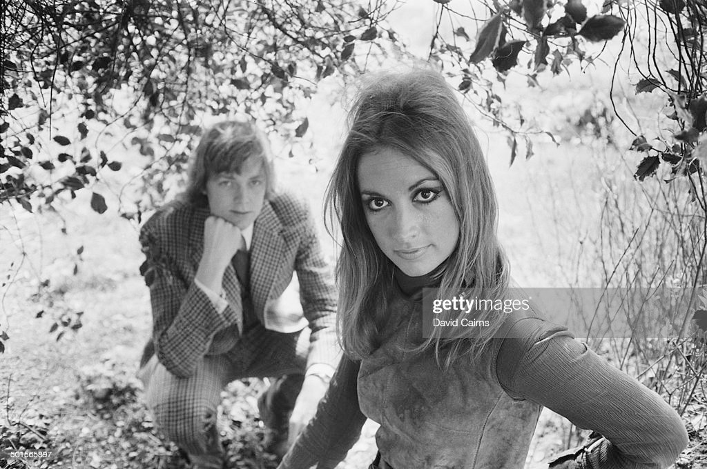 English lyricist Tim Rice with his girlfriend Juliet Simpkins 28th April 1969 Rice wrote the song 'Juliet Simpkins' in her honour It was performed by...