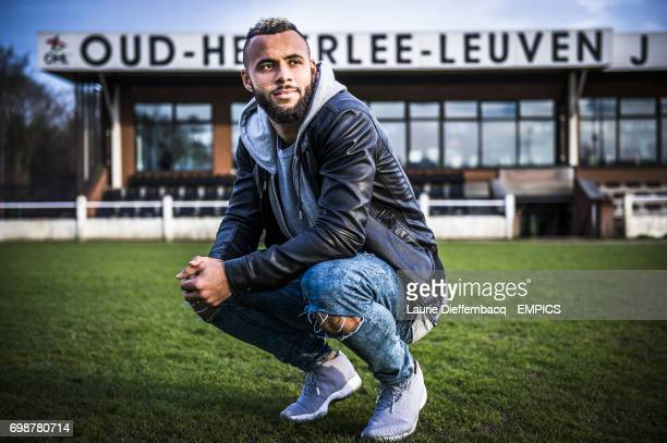 English midfielder John Bostock of Belgian second division team OH Leuven pictured during an interview