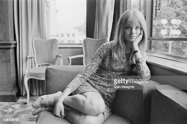 English model Jean Shrimpton 12th July 1966
