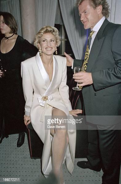 English model Paula Hamilton at the Storm Model agency anniversary party 25th September 1992