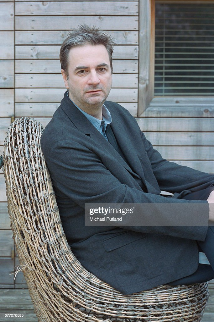English music journalist Paul Morley, UK, April 2005.