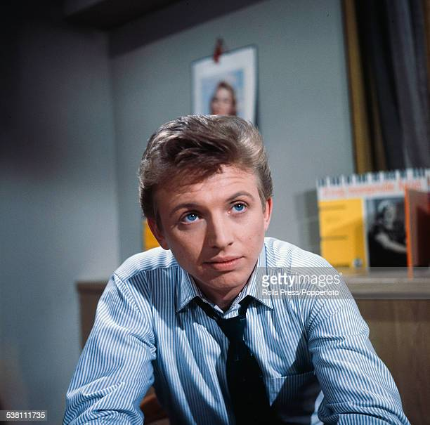 English musician and actor Tommy Steele pictured in character as Billy Bowles in a scene from the musical film 'It's All Happening' in England in 1963