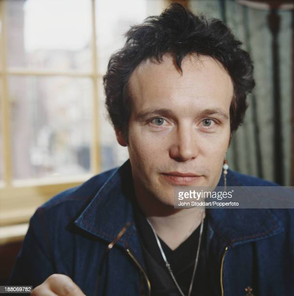 English musician and singer Adam Ant 1996