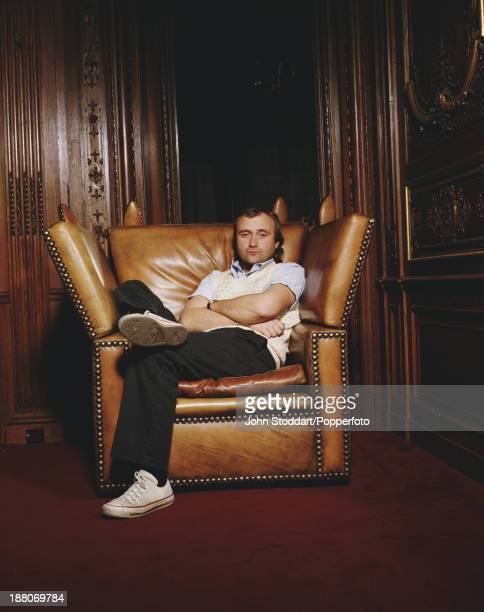 English musician and singersongwriter Phil Collins circa 1990
