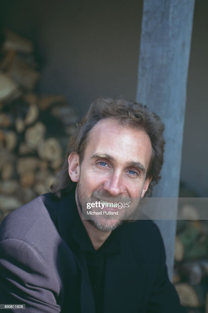 English musician Mike Rutherford of rock group Genesis, portrait, London, UK, 1993.