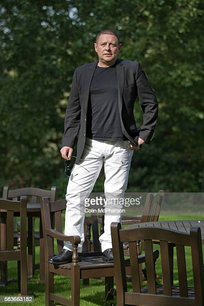English musician occasional newspaper columnist actor author singersongwriter and television personality Sean Ryder pictured near his home in...