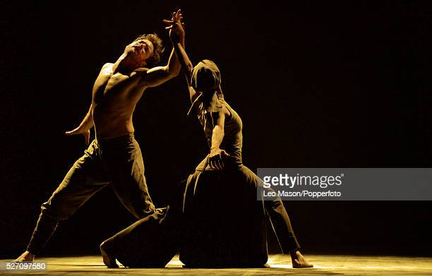 English National Ballet Company LEST WE FORGET at Sadlers Wells Theatre London UK Dust performed by Tamara Rojo James Streeter
