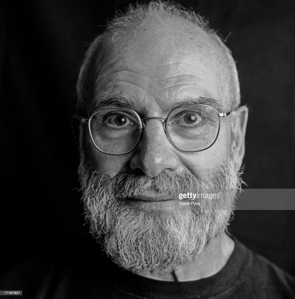 English neurologist and writer <a gi-track='captionPersonalityLinkClicked' href=/galleries/search?phrase=Oliver+Sacks&family=editorial&specificpeople=597933 ng-click='$event.stopPropagation()'>Oliver Sacks</a>, London, 3rd October 1996.